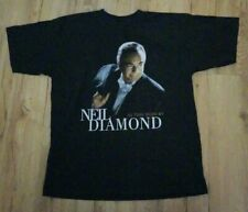 Neil Diamond 1999 vintage Countdown to the Millennium T-Shirt men's size-XL