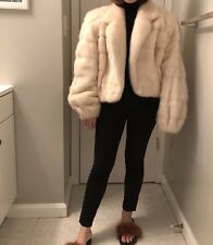 100% Authentic Oscar De La Renta Mink Fur Jacket.
