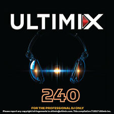 Ultimix 240 Chainsmokers Coldplay Kygo Zedd Keith Urban Crossover EDM Music DJs