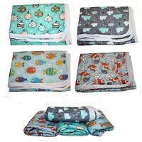 Change Mat Large Water Resistant 2 layer thick Nappy Bag 50x70cm Travel Baby mat