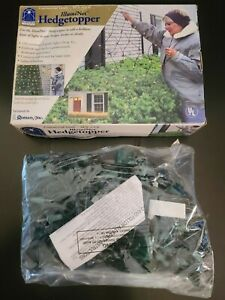 NEW IN BOX ILLUMI-NET HEDGE TOPPER 10' x 2' White CHRISTMAS LIGHTS INDOOR O