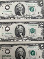 ERROR MISALIGNED Uncut Sheet of 16 Uncirculated 1976 $2 Bills STAR NOTES RARE!!