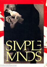 "POSTCARD - SIMPLE MINDS III (PHOTO 15x10,5 CM) MADE IN E.E.C.""PP 051"" NUEVO*MINT"