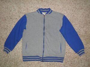 """GYMBOREE """"Super Dude"""" Fleece Zipper Jacket Size L(10-12)"""