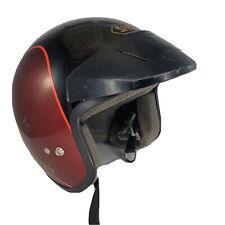 Shoei Motorcycle helmet Size XL Good Cond Garnet Red RJ 101V Snell M85 DOT