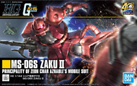 Bandai Gundam HGUC #234 MS-06S Char Zaku II 40th Anniversary HG 1/144 Model Kit