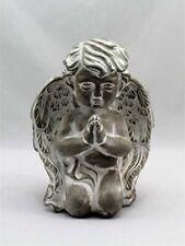 Home Decor Pair Magical Fairy Angel Cherub Figurine Garden Ornament 12cm Tall