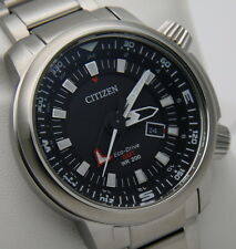 Watch Citizen BJ7081-51E Eco Drive Promaster GMT 200 New with Box and Warranty