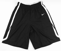 New Nike Men's L Hyperelite Potential Basketball Short Black / White MSRP $55