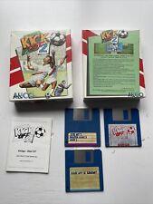 Kick Off 2 Amiga Big Box Game Complete