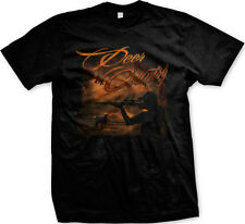 Deer Country Redneck Southern Hunting Buck Guns Rifle Mens T-shirt