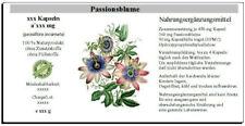 Passionsblume Kapseln (passiflora caerulea)