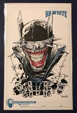 BATMAN WHO LAUGHS JOKER ORIGINAL ART SKETCH BY RB WHITE  Dark Nights Metal