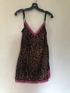 Tripp NYC Daang Goodman Cheetah Tank Top/slip  Size S