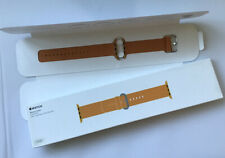 Genuine Apple Watch Strap Woven Nylon Band 42mm / 44mm  2016 Gold / Red