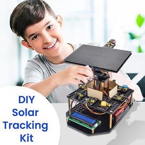 KEYESTUDIO Programming Robot Acrylic Solar Tracking Starter Kit for Arduino