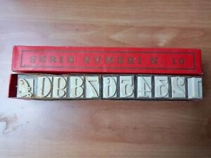 Timbri in Plastica Gomma Maiuscolo NUMERI Alfabeto Etichette Scrapbooking