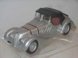 FRANKLIN MINT Modello IN Metallo - BMW 328 Roadster V 1938 Massiccio Stagno