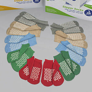 Medical Grade, Soft Sole Slipper Socks, Non Skid Hospital Travel Slipper Socks.
