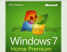 MICROSOFT WINDOWS 7 HOME PREMIUM 32/64 BIT ESD *ORIGINALE* FATTURA* PREZZO PROMO