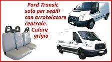 Coprisedili Ford Transit con arrotolatore fodere trapuntate grigio robusti