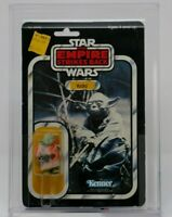 32 Back-B AFA 80 NM Yoda Vintage Kenner 1980 Star Wars