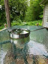 ALL CLAD copper core 6 qt quart SAUTE sauce PAN pot with LID MADE IN AMERICA