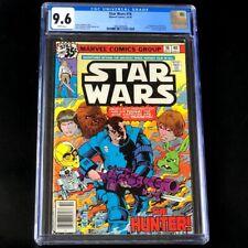 Star Wars #16 (Marvel Comics 1978) 💥 CGC 9.6 WHITE 💥 1st App of VALANCE! Comic