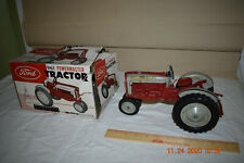Vintage 1958 1/12 Hubley Ford 961 POWERMASTER Tractor With 3 Pt & Original Box