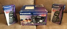 Panasonic KX-TG4000B Multi-Handset Cordless System + 2 KX-TGA400B Handsets