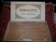 Porta Sigari  Minghetti anni 20 Collezionismo Antico MADE ITALY