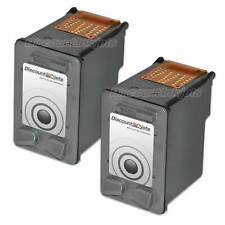 2PK BLACK C9351AN Ink Cartridge for HP 21 Deskjet 3930v D1520 3920 D1320 D1311