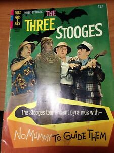 Gold Key The Three Stooges No. 32 January 1967 Comic Book Tour Ancient Pyramids