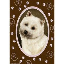 Paws House Flag - Wheaten Cairn Terrier 17094