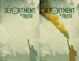Department of Truth #10 David Baron Smokeless / Smoke Set limited 350 6/30/21