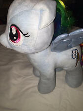 Rainbow Dash Plush My Little Pony Build a Bear 14in Friendship is Magic