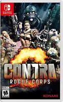 Contra Rogue Corps Nintendo Switch Brand New