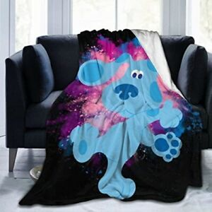 Blues Clues Blanket Flannel Throw Lightweight Plush Quilt 50x40 In