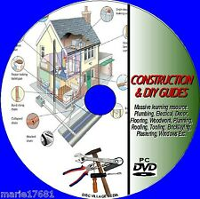 DIY & CONSTRUCTION SKILLS GUIDE PCDVD NEW INC KITCHEN BATHROOM & GARDEN PROJECTS