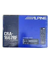 Alpine Cra-1667Rf Cd Changer Controller/Fm Modulator With Remote, New! Ainet Xm