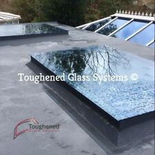 Skylight Flat Roof Rooflight Double Glazed Self Clean Glass 1000mm by 2000mm