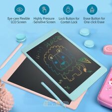 """2Pack Colorful Lcd Writing Drawing Tablet Pad 8.5"""" Notepad Draw Board for Kids"""