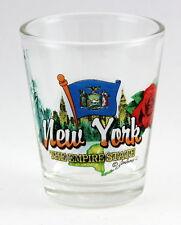NEW YORK EMPIRE STATE ELEMENTS SHOT GLASS SHOTGLASS