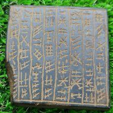 Near Eastern old rare inscription written stone  tablet #178
