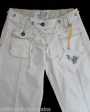 New Womens White Crop NEXT Jeans Size 6 Regular DEFECT