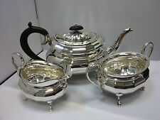 Antique Sterling  Silver Viners LTD (Emile Viner) Tea Set 1941