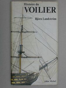 Histoire du Voilier de Landstrom - Albin Michel - Bateau la mer 1978