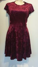 Brand New With Tags City Chic Ruby Red Velvet Dress Fox + Royal RP$59.95 M - 18