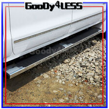 "For  01+ Silverado Sierra Crew Cab 6"" Nerf Bars Side Step OE Style Running Board"