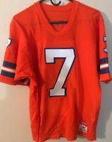 Denver Broncos John Elway  SUPER RARE VINTAGE Sand Knit Double Sewn Jersey MINT